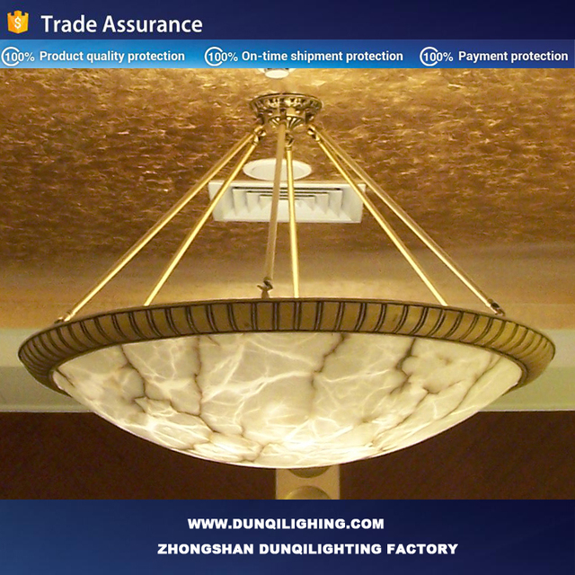 Brass alabaster pendant lamp wholesale lamp suppliers alibaba luxury kazakhstan hotel turket alabaster single golden brass pendant lamps aloadofball Images