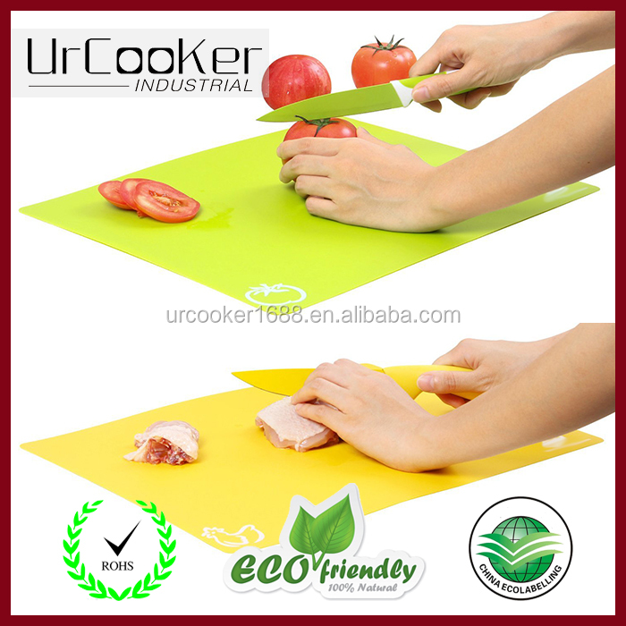 Cutting Boards, Colorful Kitchen Cutting Mat Set, Easy Clean Modern Mats