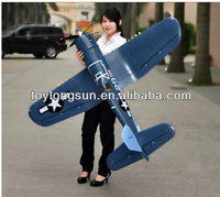 F4U remote control electric rc big size airplane made in china
