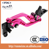 M002-01-DB80/DC80 motorcycle part pink and black color levers for aprilia TUONO / R brake and clutch use