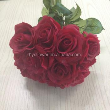 Bouquet Sposa Rosso.Inverno Fiori Caldo Da Sposa Rosso Le Rose Decorative Bouquet Da
