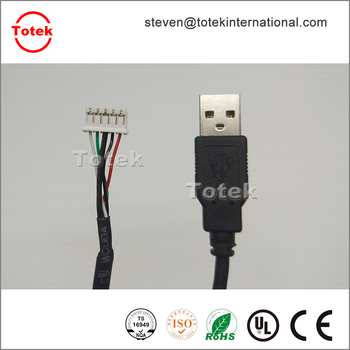 Usb A Male To Jst 5 Pin Connector Custom Usb Cable Assembly - Buy ...