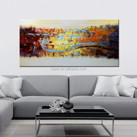 Latest Decorative Original Wholesale Oil Painting