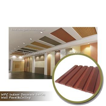 Interior Decorate Wpc Pvc Ceiling Panel Greener Wood Wall Panel Ceiling For Interior Decoration Buy Wpc Pvc Panel Ceiling Greener Wood Pvc Ceiling