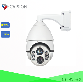 HD 1080P IP IR Laser long range night vision 200m infrared speed dome PTZ network camera equipment