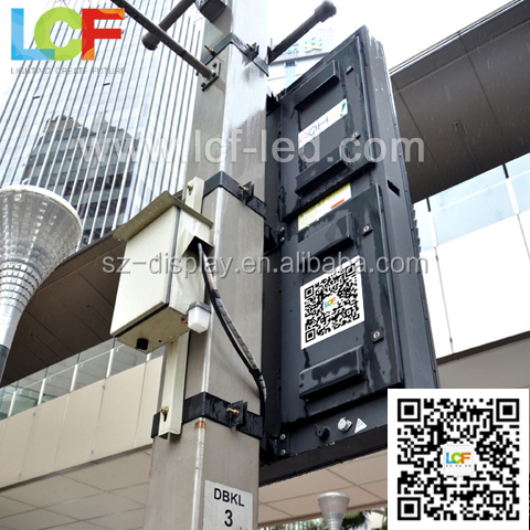 shenzhen hot sale outdoor HD 3G wireless control outdoor advertising p6 led post TV