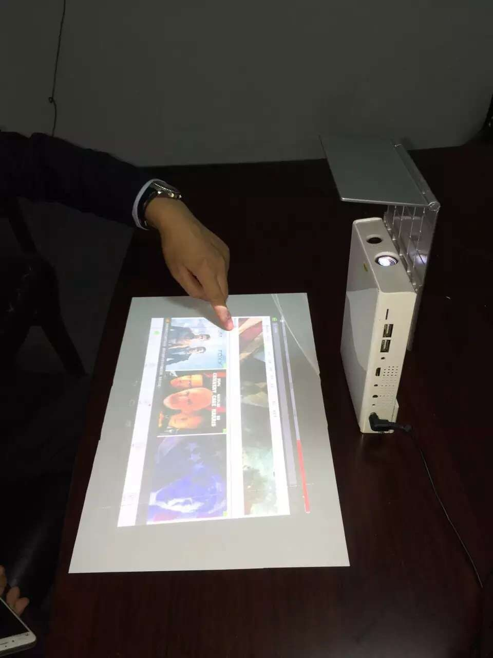 Mini Projector Portable Led Projector Two Modules With