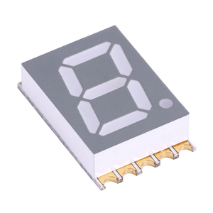 7 segment 3911SMD seven segment LED display with gray surface