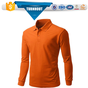 Hot sale Autumn breathable multicolor plus size long sleeve men tshirt