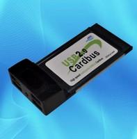Laptop 4 Ports Hub usb 2.0 Pcmcia Pc Cardbus Adapter