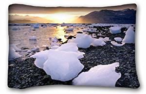 Generic Baby Boys' Nature Beaches sunset ice sunrise landscapes beach hills alaska icebergs pebbles bay reflections sea w Nature Beaches Size 20x30