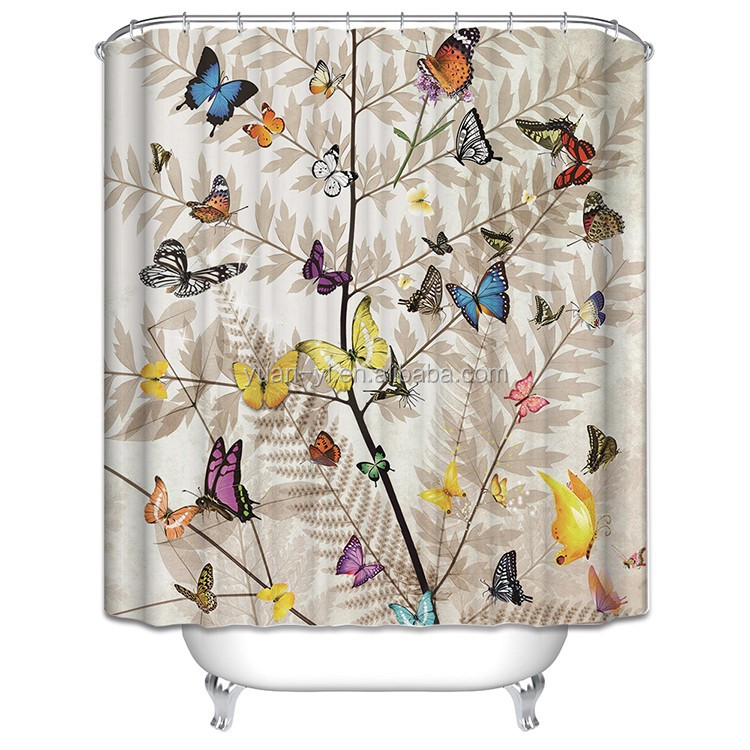 Decorative Shower Curtain Rings Buy Elegant Hotel Or Home Bath Shower Curtain Product On