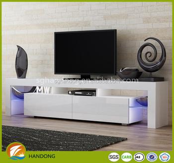 TV Stand Modern LED Living Room India Furniture Cabinets Design