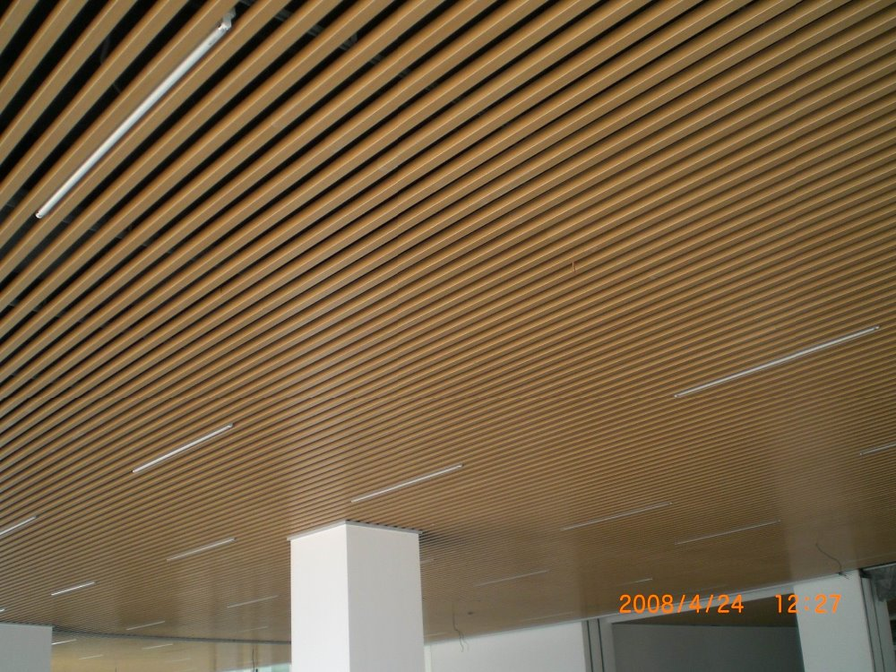 Wood Baffle Ceiling System Integralbook Com