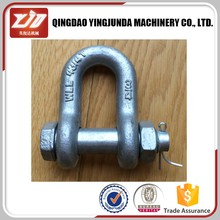 screw pin anchor shackle marine hardware shackles chains omega shackle