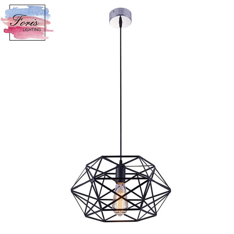 Traditional Custom made Hanging Lights E26 Modern Iron single foyer Pendant Lamp