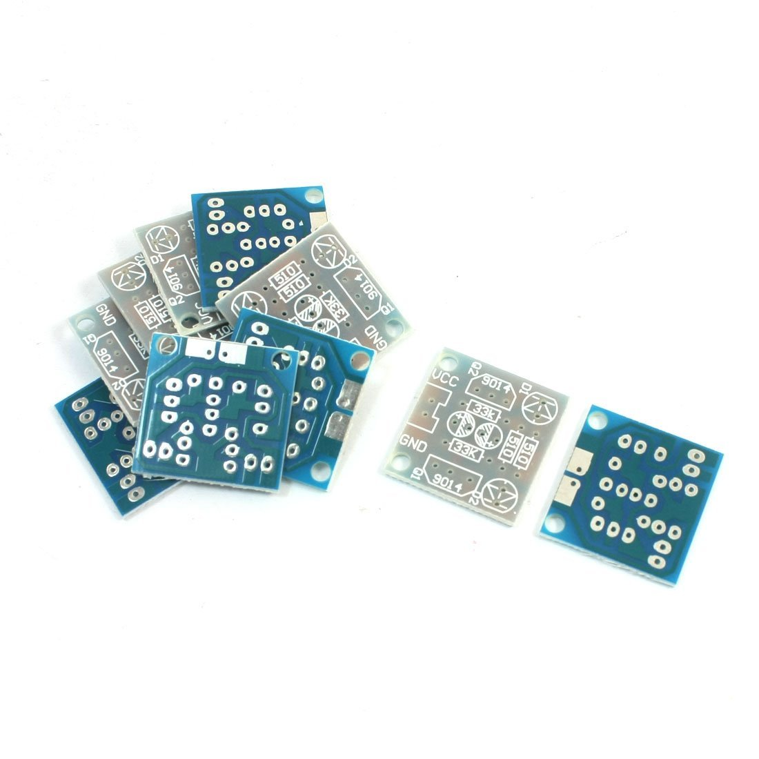 Cheap Simple Led Driver Circuit Find Watt View 3 Get Quotations 10pcs 5mm Flash Light Kit Pcb Bare Board