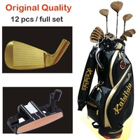 Original Quality Gold complete set of golf clubs Good price KAIDIDA Men golf clubs full set with golf caddy bag