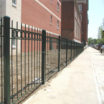 Metal Sliding Garden Fence / Iron Pipe Gate Grill Designs /main ...