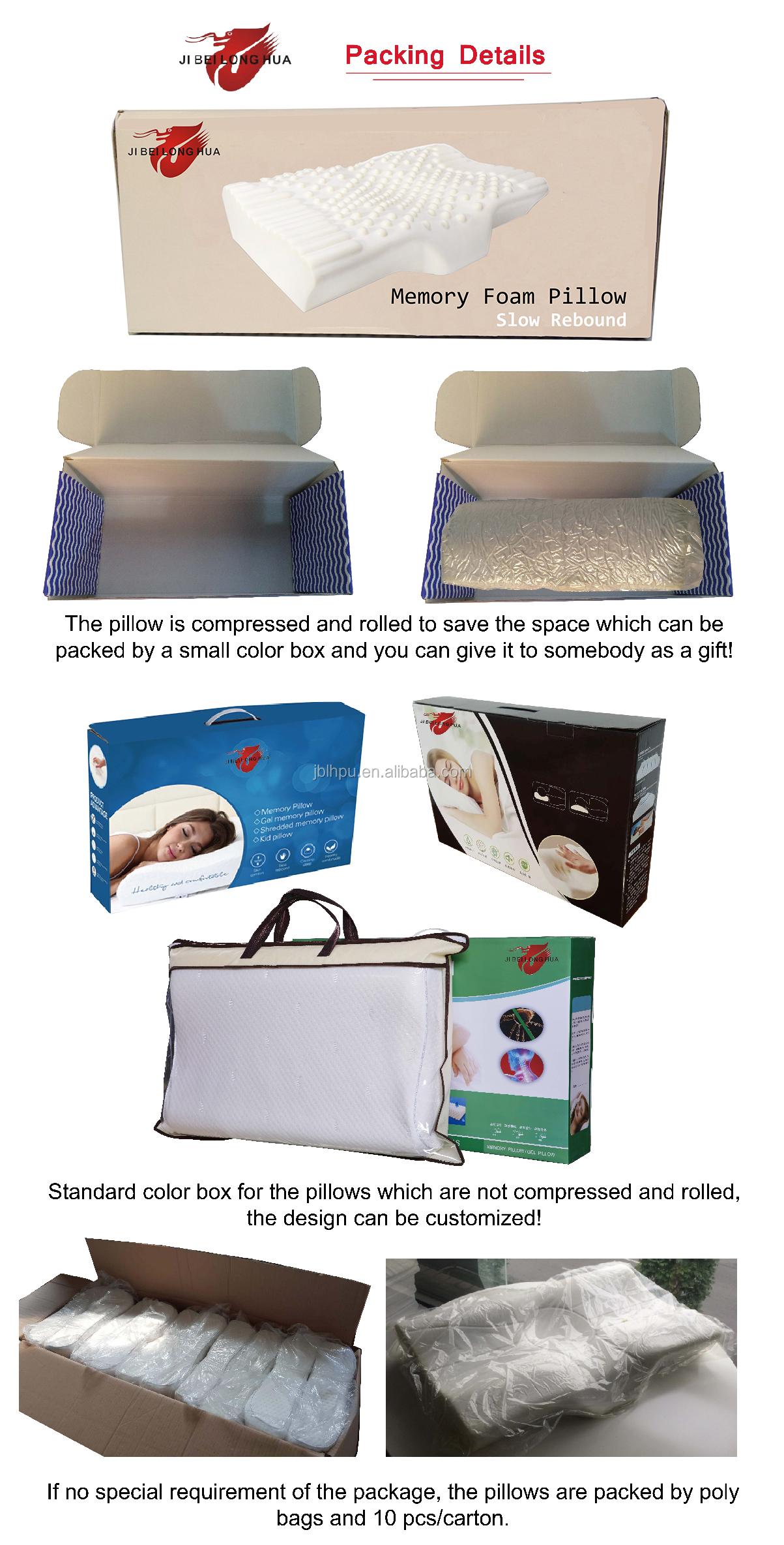 Home decoratieve bed coolmax air gel kussen met memory foam