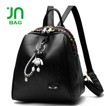 00386af57f JIANUO Women Casual Purse Fashion School Leather Backpack Shoulder Bag Mini Backpack  PU Leather Backpack