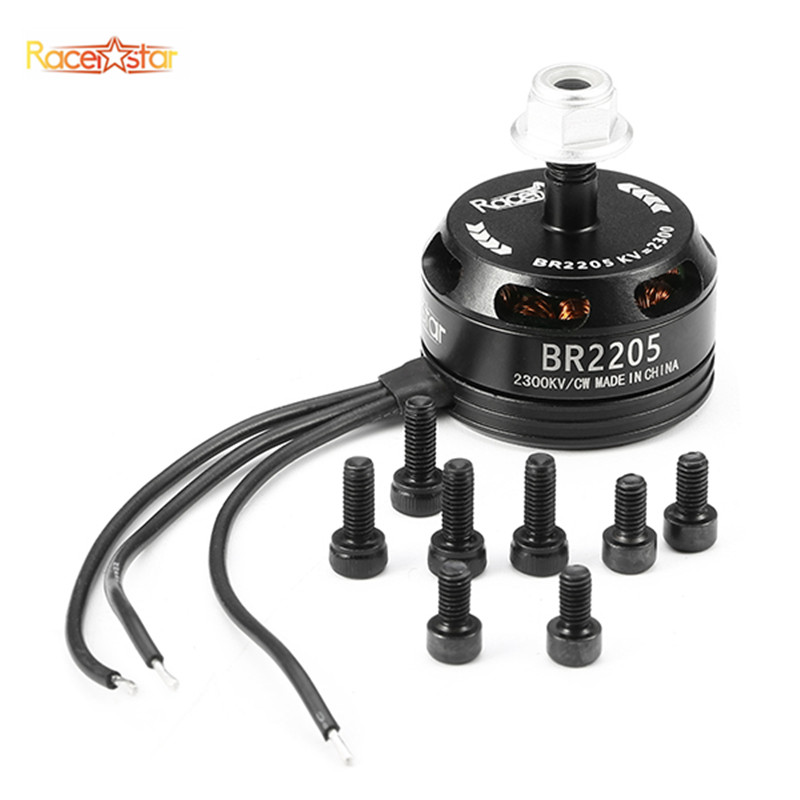 Racing Edition 2205 BR2205 2300KV 2-4S Brushless Motor CW//CCW For Frame Kit