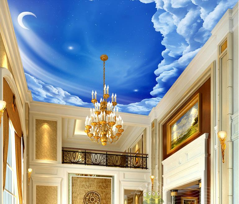 3d Wallpaper Mural Night Clouds Star Sky Wall Paper: Popular Cloud Wallpaper-Buy Cheap Cloud Wallpaper Lots