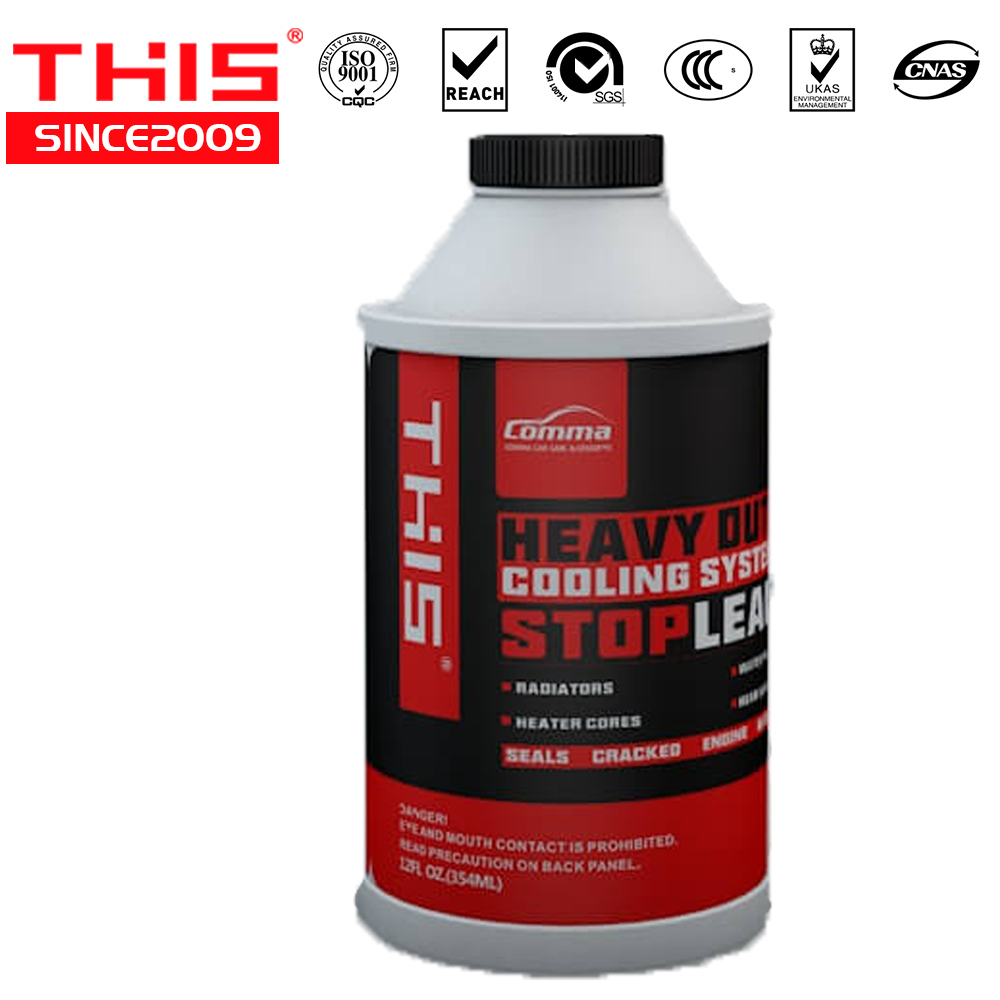 One Step Radiator Heavy Duty Coolant Inhibits rust and corrosion repair tools stop leak