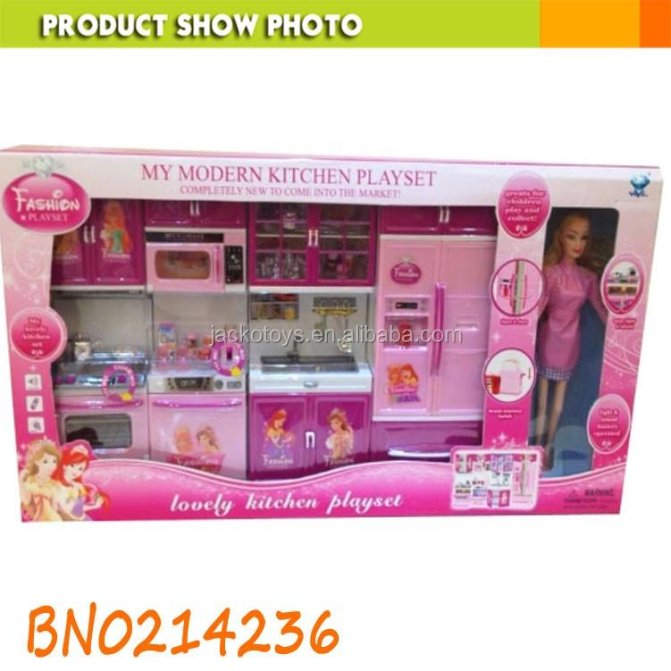 Ragazza Giocattoli Per Bambini Finta Play Toy Barbie Cucina ...
