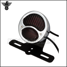 Chrome Motorcycle Brake Light Custom Tail light for Yamaha Chopper