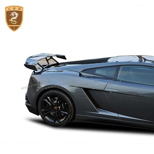 Top Quality Carbon Body Kits Rear Wing Trunk Spoilers DNC Style Suitable For Lamborghini Gallardo LP550-570 Rear Wings 2004-2008