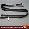 high quality metal 2 way open end zipper for jacket