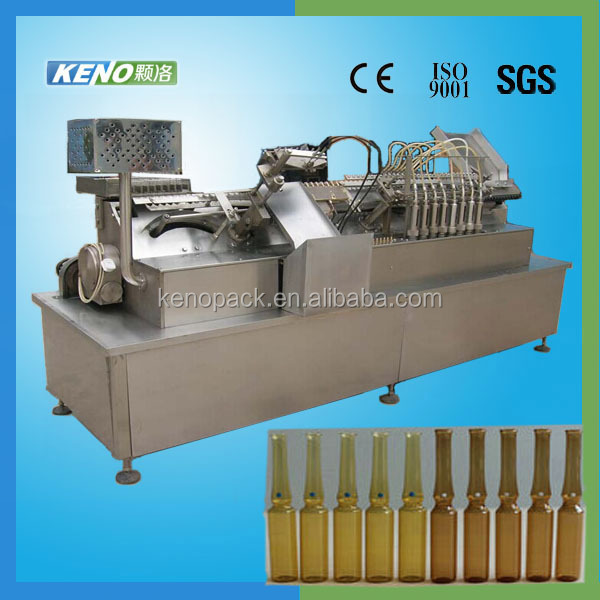 2016 Hot Saling Full automatic ampoules filling and sealing machine