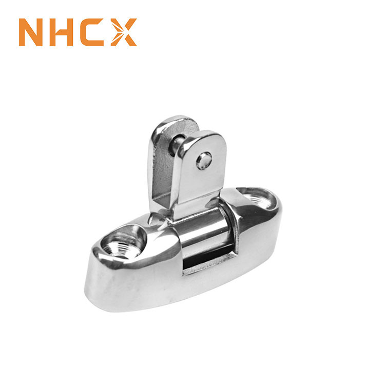 2pcs Boat Fittingss Stainless Steel Swivel Deck Mounts for Marine <strong>Hardware</strong>