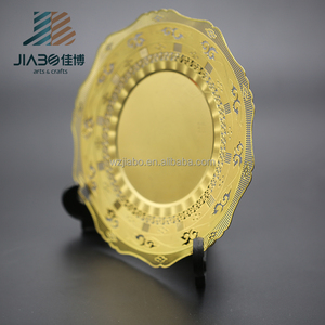 JIABO custom size gold 3D metal(plastic) base award trophy cup