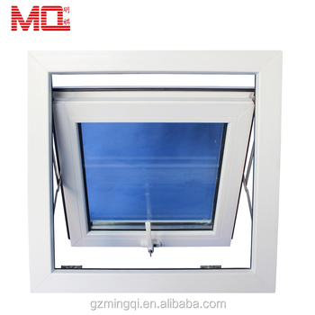 China suppliers cheap double glass thermal break aluminum awning window
