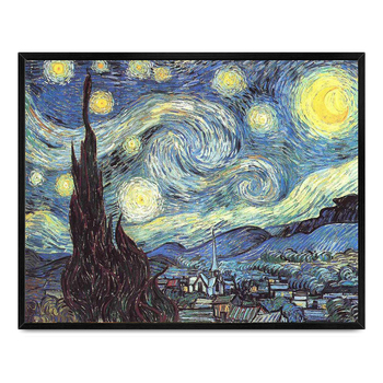 Low Price Wholesale 100% Handmade Famous Artist Van Gogh Starry ...