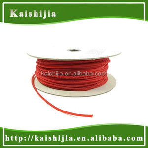 3mm PET Round braided cable sleeve wire sleeving