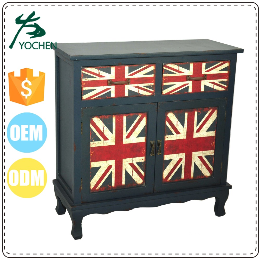 eco friendly materials antique china style vintage industrial cabinet
