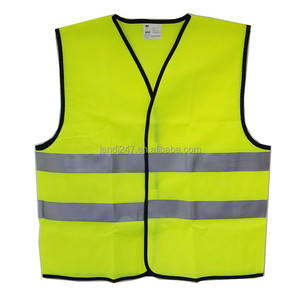 High visibility Yellow safety Reflective vest Article with reflective