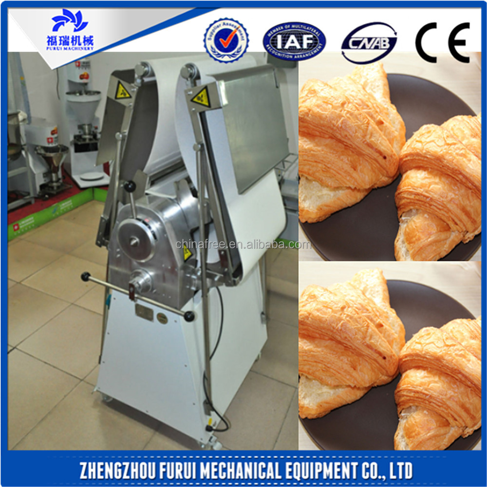 Made in china croissant machine dough sheeter for home use/reversible dough sheeter belts