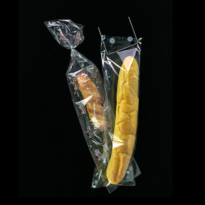 wholesale biodegradable custom printed clear plastic bread bag