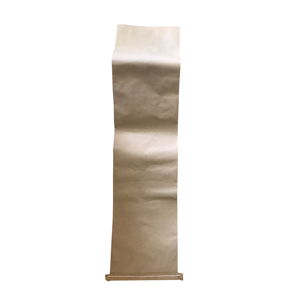 High quality kraft paper laminated plastic pp woven bag for frozen fish export to Russia