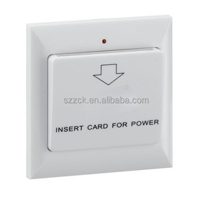 Hotel electric control switch power saver for hotel room