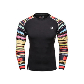 Cody Lundin Long Sleeve Skin Rash Guard Complete Graphic Compression Shirts  Multi-use Fitness MMA Crossfit Tops Shirts, View MMA Crossfit Tops Shirts,
