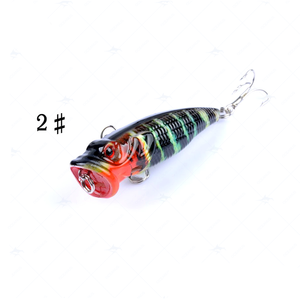 A variety of color bait 2 stainless steel hooks for a variety of lure fish