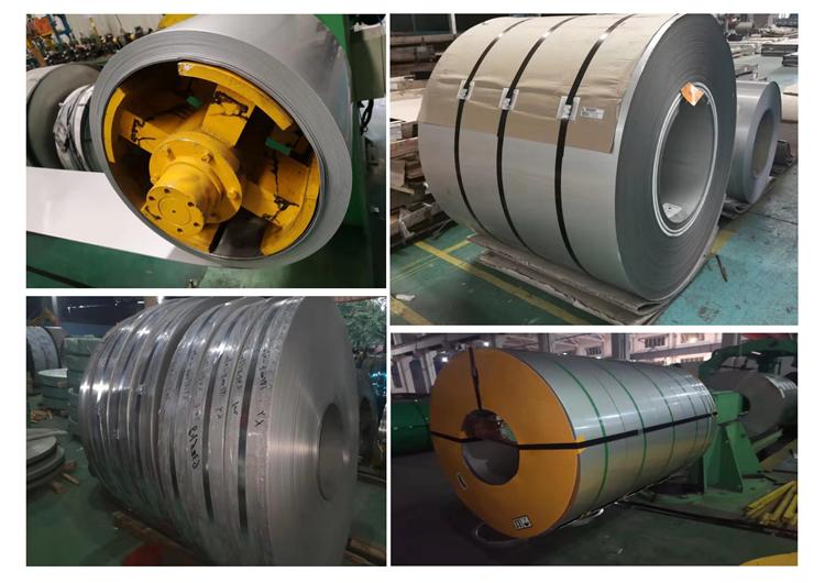 Factory wholesale BA 2B NO.1 NO.3 NO.4 8K HL 2D 1D raw material 201 304 316l 409 430 stainless steel coil manufacturer