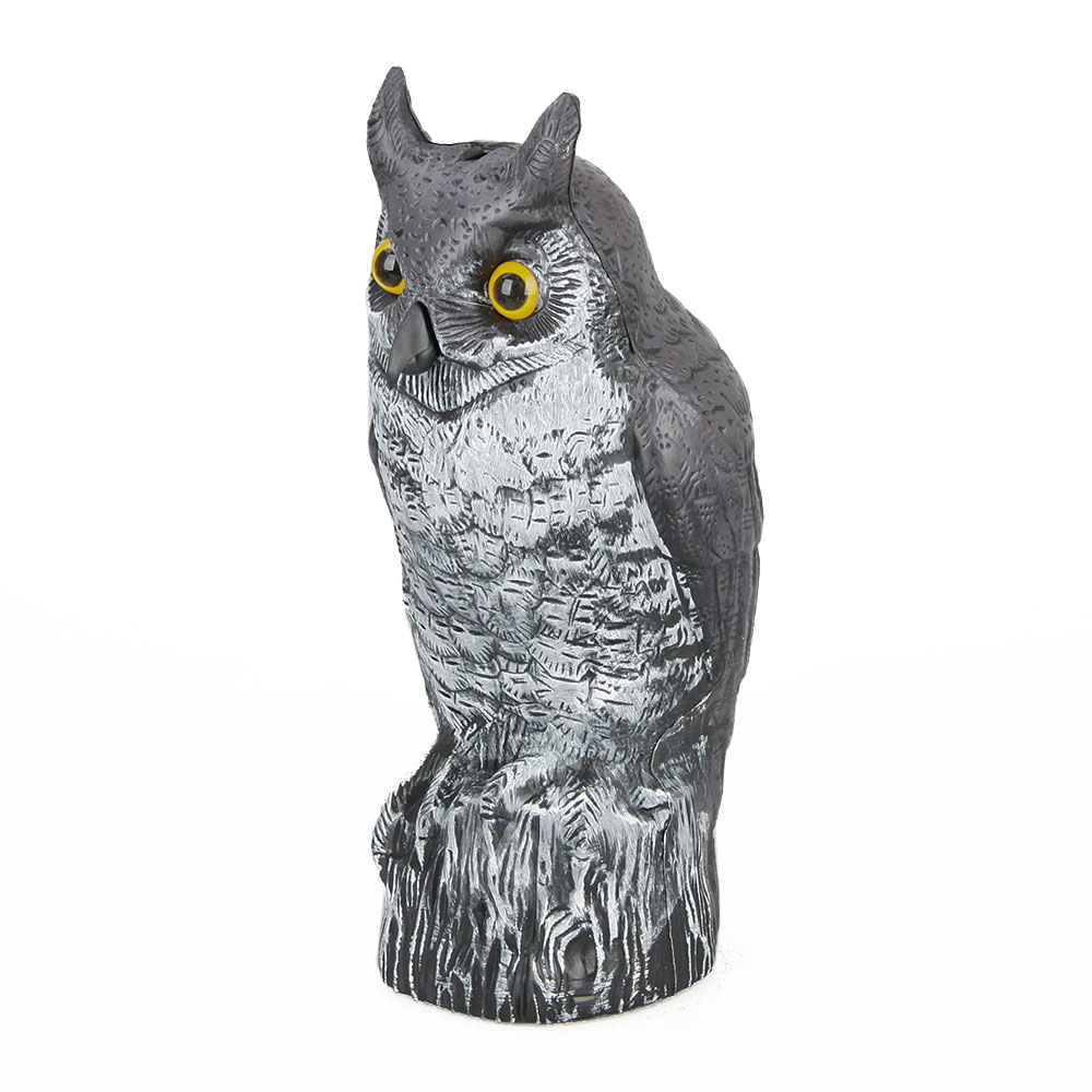 PE Plastic Owl Decoy For Hunting garden decoration plastic owl