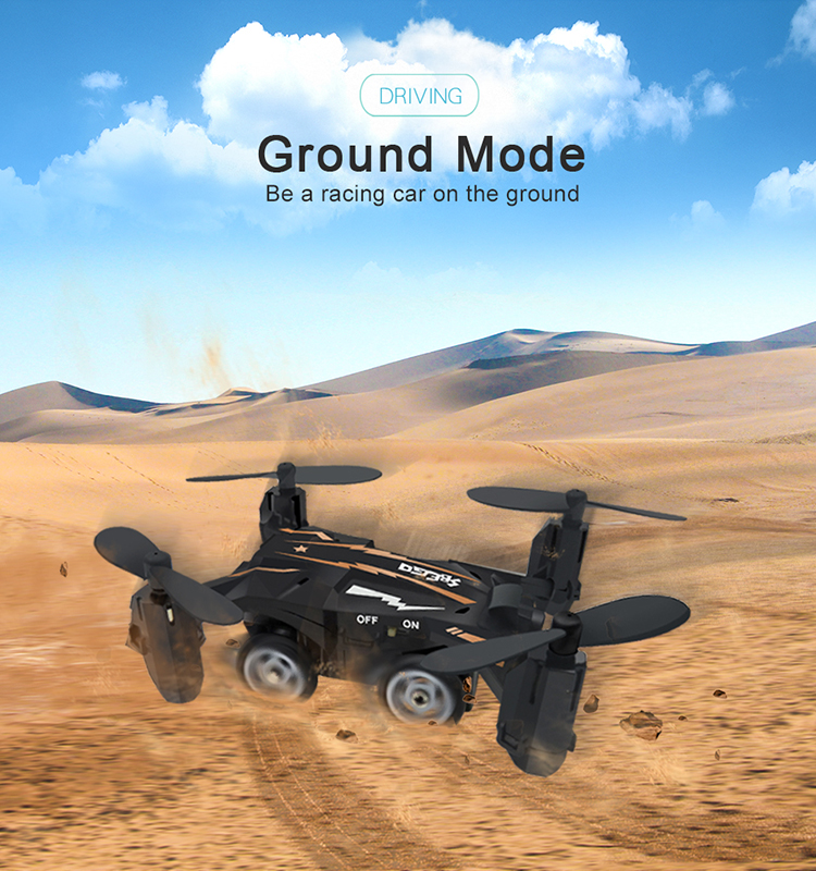 4. SBEGO_132_Black_Mini_Flying_Car_Drone_Mini_Pocket_Drone