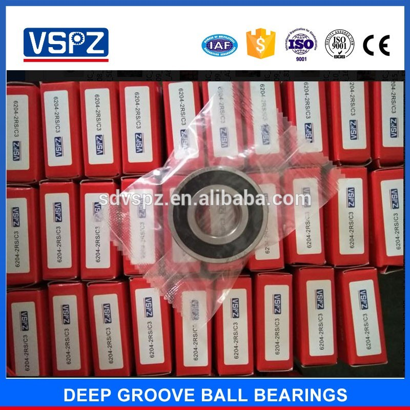 Deep groove ball 6202 nbc bearing price list for auto car parts